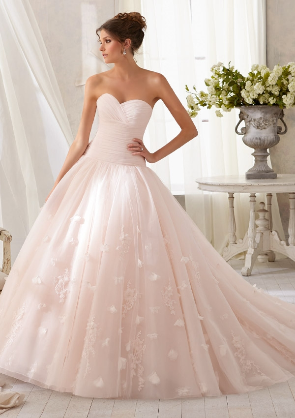 Trouwjurk 5209 Mori Lee