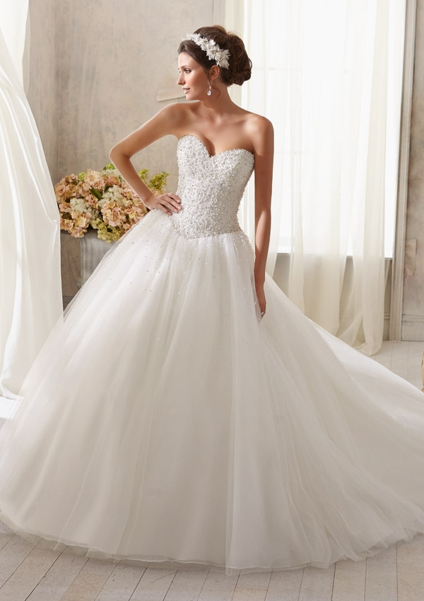 Trouwjurk 5216 Mori Lee