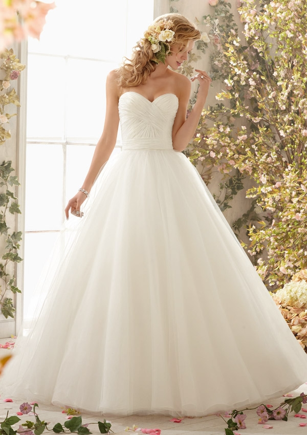Trouwjurk 6775 Mori Lee