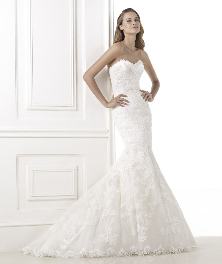 trouwjurk Bella Pronovias