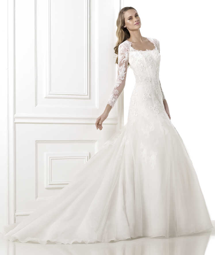 trouwjurk Beverly Pronovias