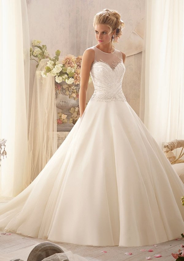 Trouwjurk 2602 Mori Lee
