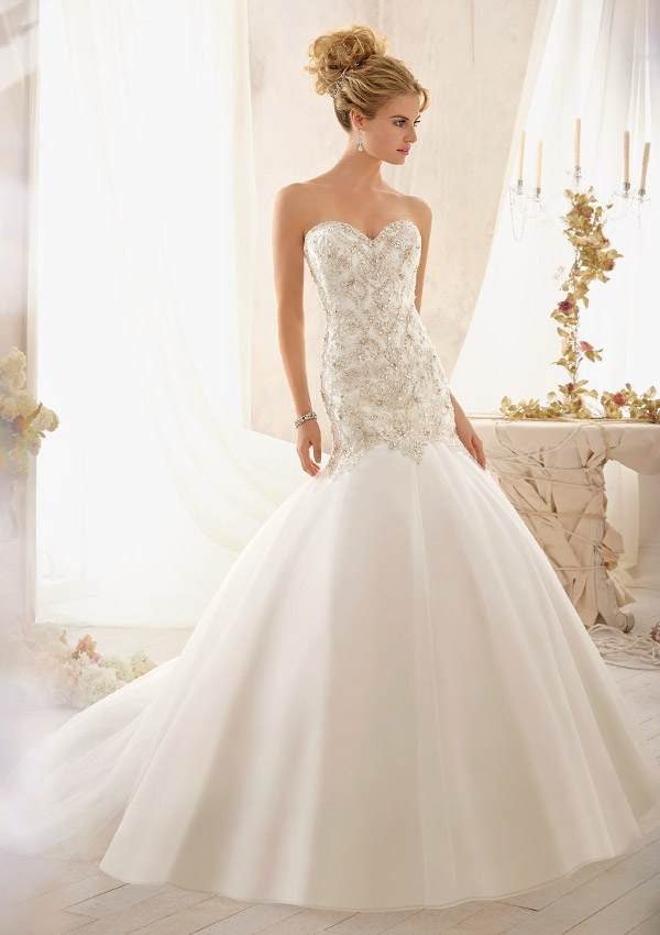 Trouwjurk 2606 Mori Lee