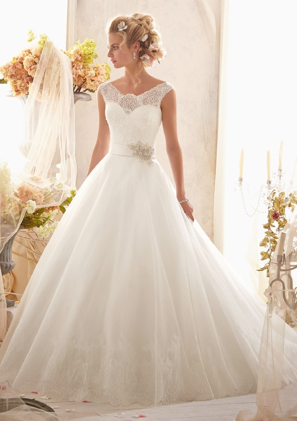 Trouwjurk 2607 Mori Lee