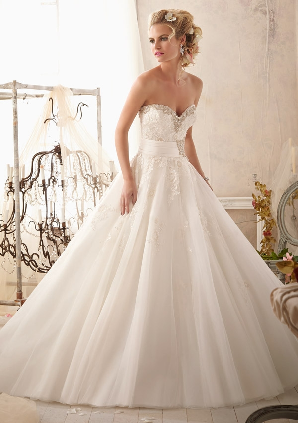 Trouwjurk 2614 Mori Lee