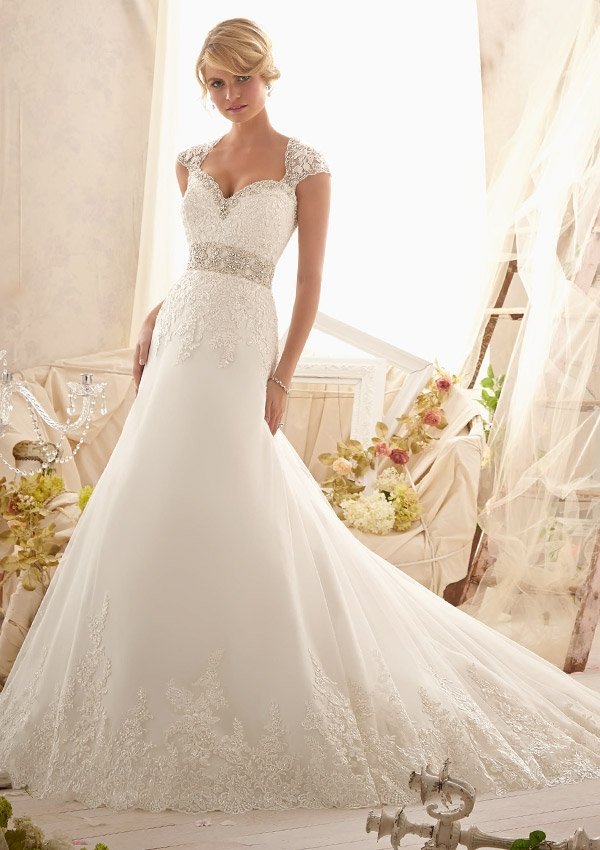 Trouwjurk 2616 Mori Lee