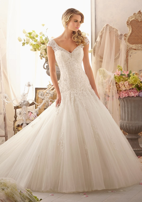 Trouwjurk 2619 Mori Lee