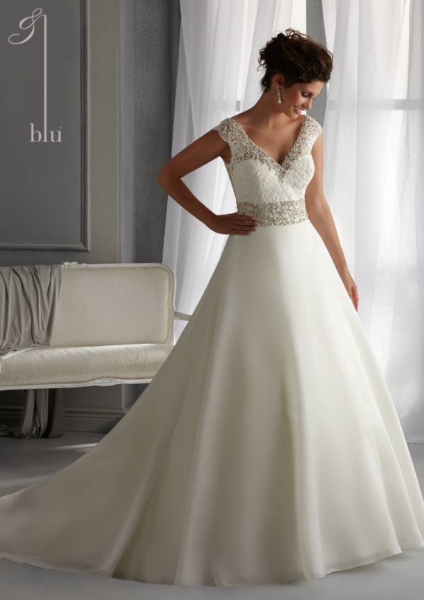 Trouwjurk 5261 Mori Lee