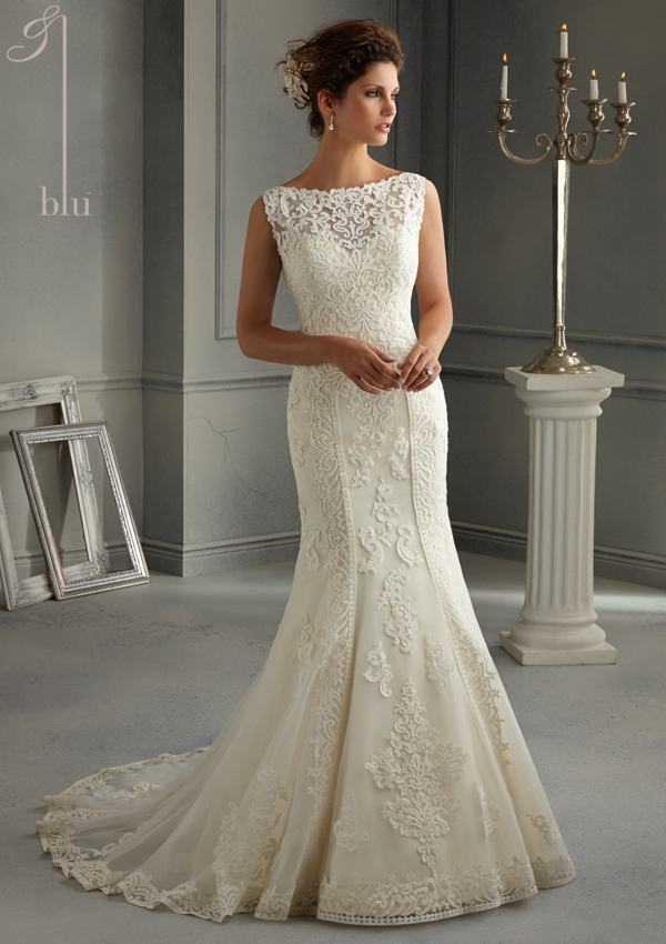 Trouwjurk 5262 Mori Lee