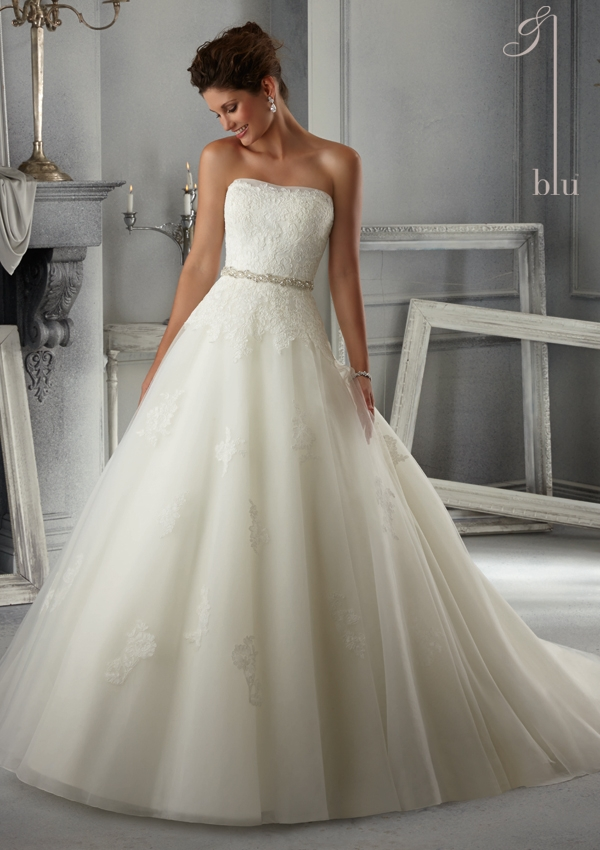 Trouwjurk 5263 Mori Lee
