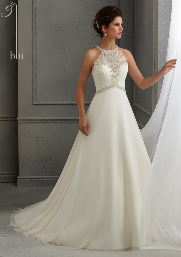 Trouwjurk 5264 Mori Lee