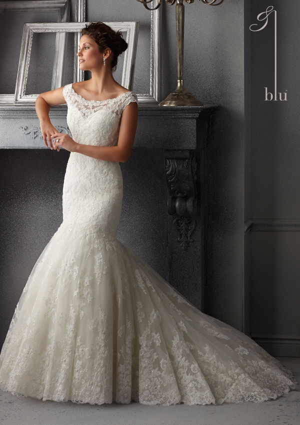 Trouwjurk 5265 Mori Lee