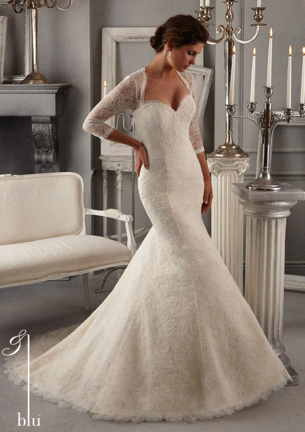 Trouwjurk 5275 Mori Lee