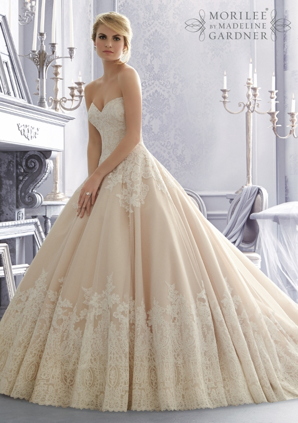 Trouwjurk 2674 Mori Lee