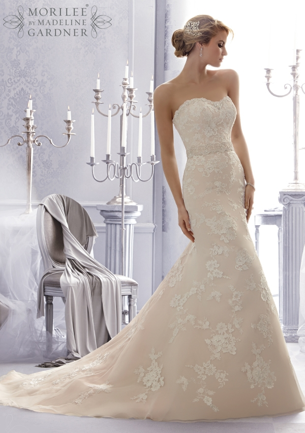 Trouwjurk 2676 Mori Lee