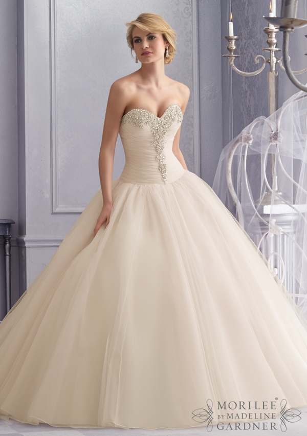Trouwjurk 2677 Mori Lee