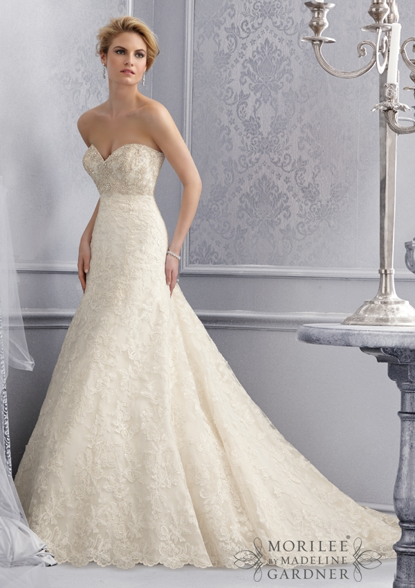 Trouwjurk 2678 Mori Lee