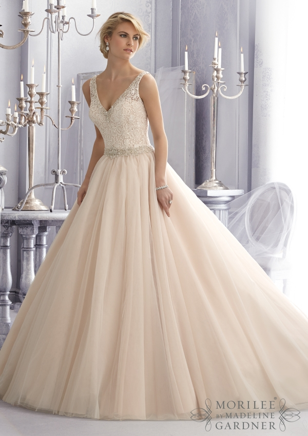 Trouwjurk 2684 Mori Lee