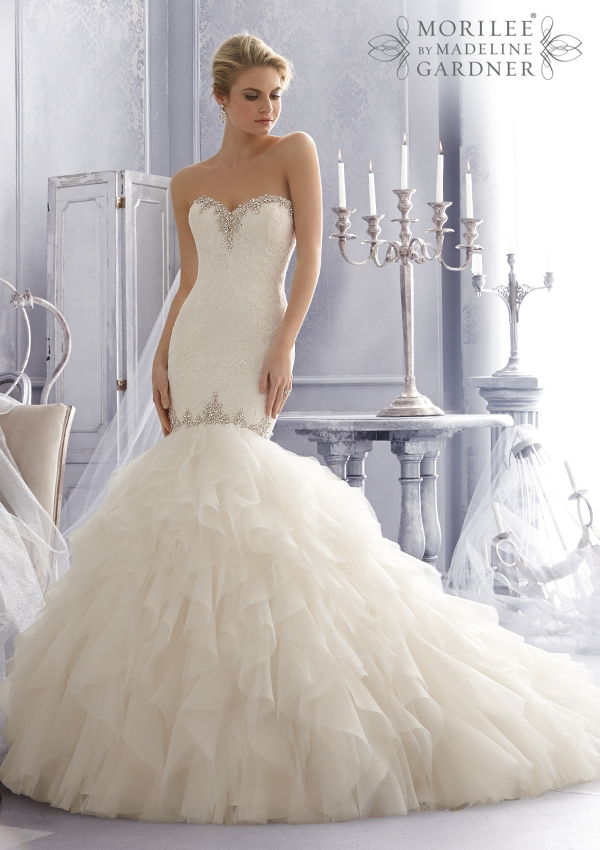Trouwjurk 2685 Mori Lee