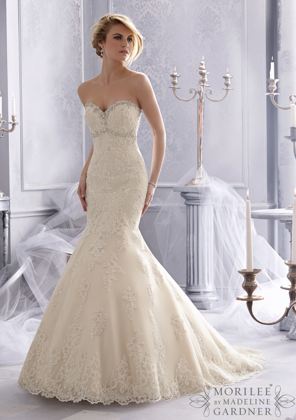 Trouwjurk 2686 Mori Lee