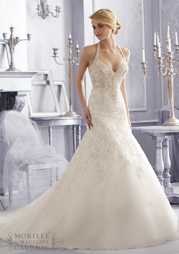 Trouwjurk 2687 Mori Lee