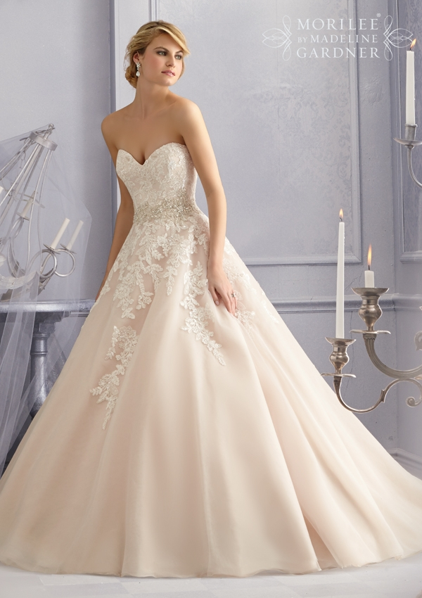 Trouwjurk 2690 Mori Lee
