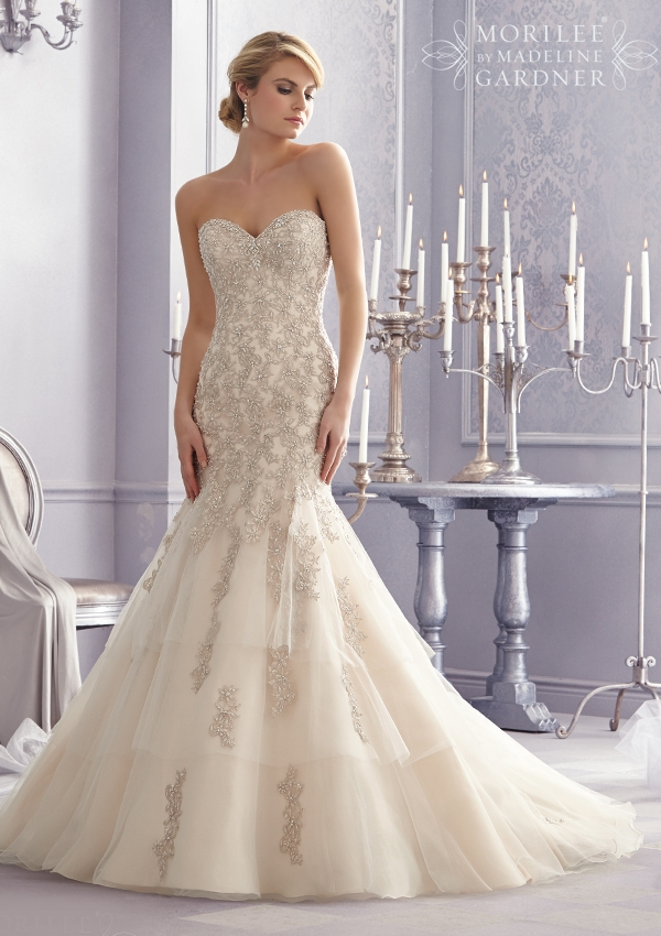 Trouwjurk 2691 Mori Lee