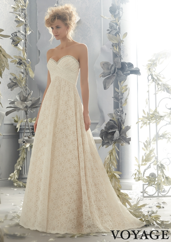 Trouwjurk 6781 Mori Lee