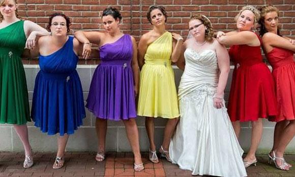 regenboog bruiloft